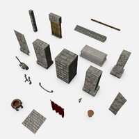 medieval dungeon pack c4d free