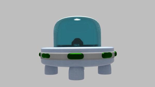 3d 3ds ufo uflee