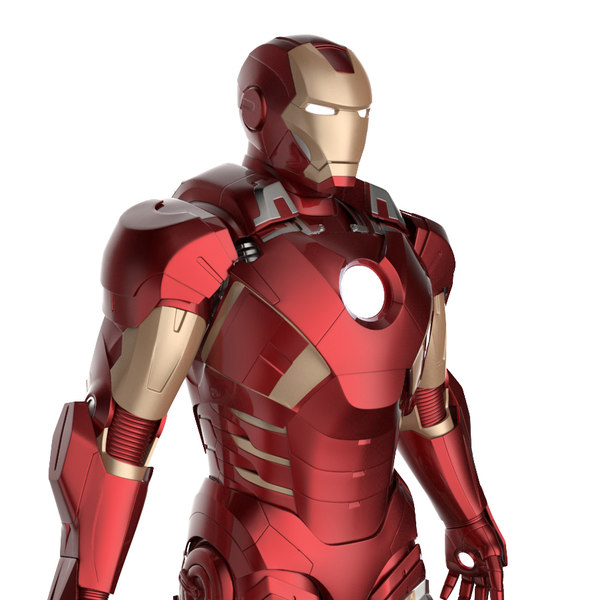 mark 7 suit 3d 3ds