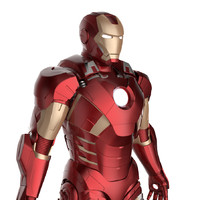 Iron Man 3 Suit - Mark 7 Armor