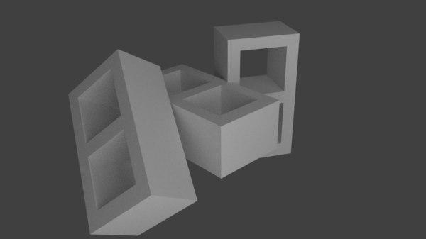 cinder block 3ds