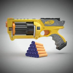 3d model gun nerf