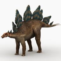 max stegosaurus dinosaur animation