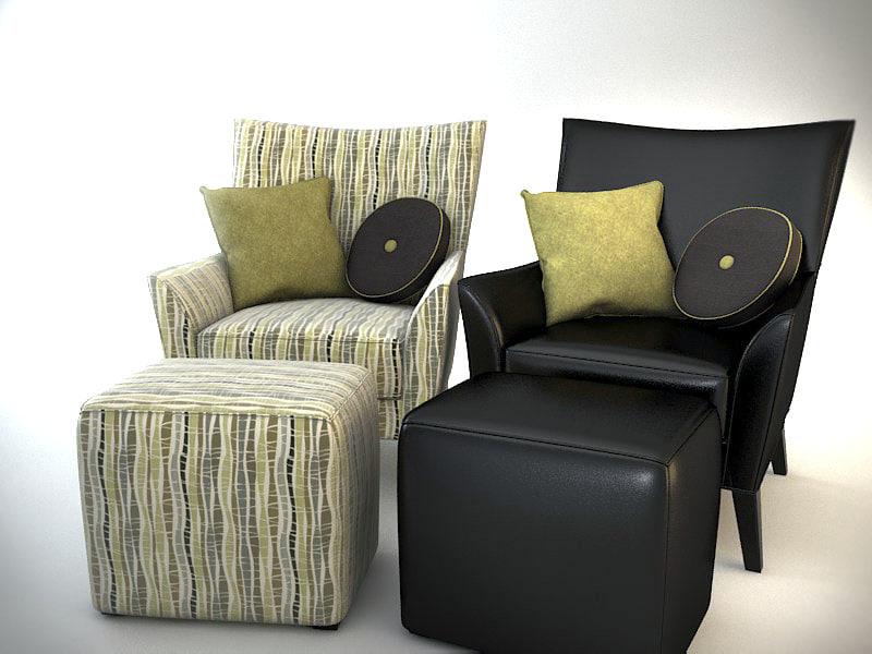 armchair 2014 3d model