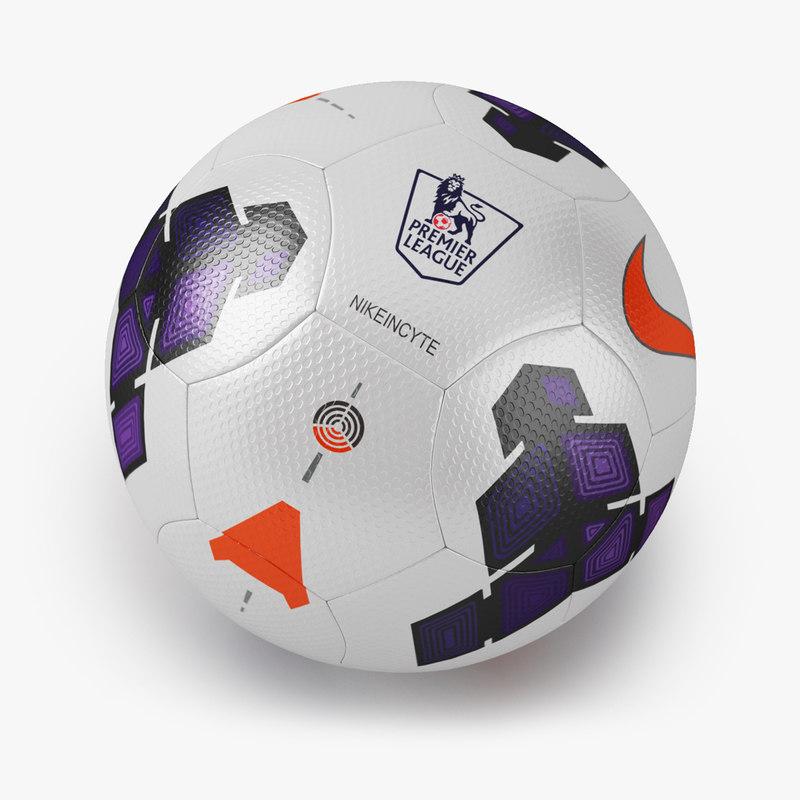 nike incyte soccer ball 3d model