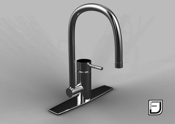 3d kitchen faucet 12 model