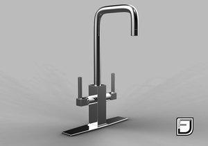 3d kitchen faucet 13