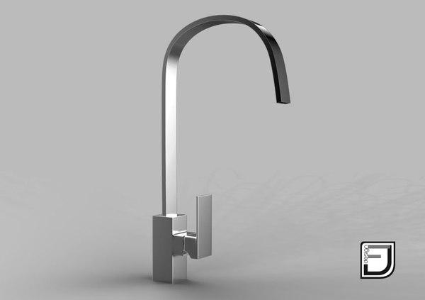 kitchen faucet 9 c4d