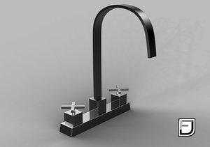 kitchen faucet 11 3ds