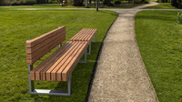 3d model of bench 501