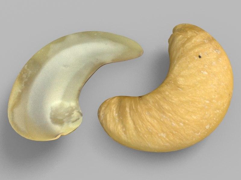 3dsmax cashew nuts