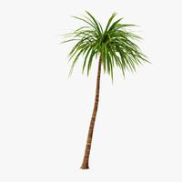 3d model of palm 012