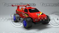 mega machine jr 3d model