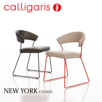 3d calligaris new york metal chair model