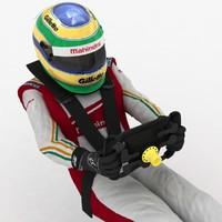 Formula E Driver Sat