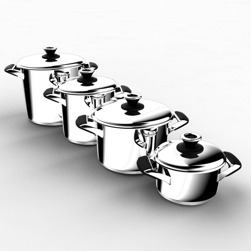 cookware cook 3d model