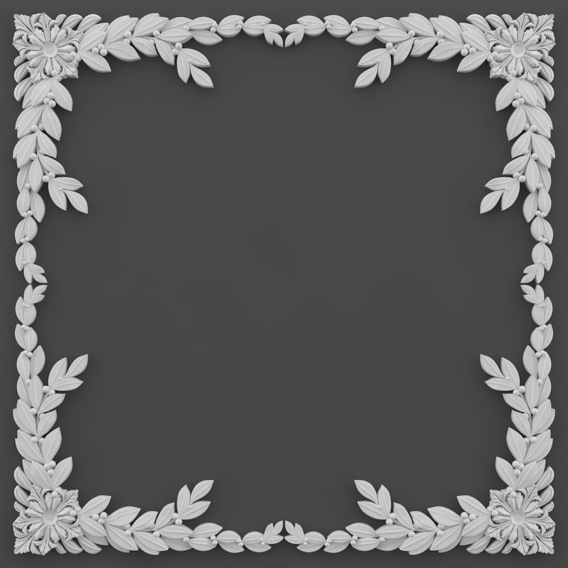 3d model corner element