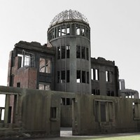 Atomic Bomb Dome _Textured 2014.ver
