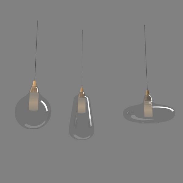 glass pendant lights max