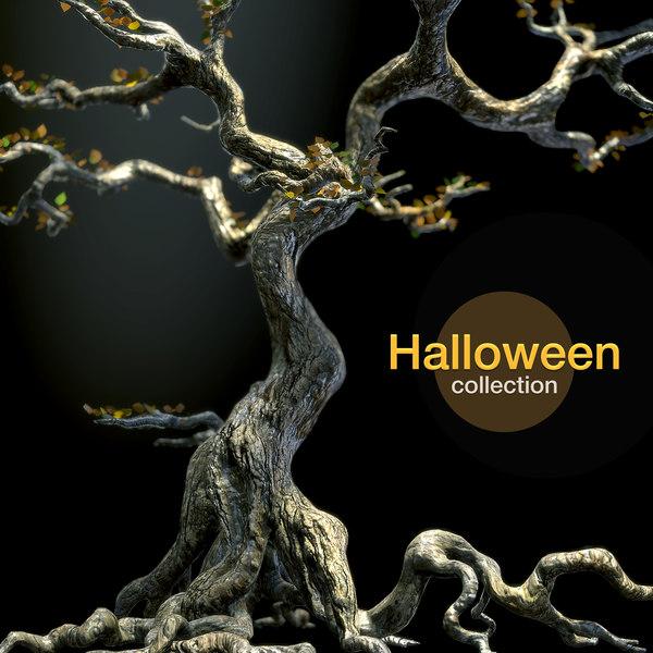 scary tree 3d model