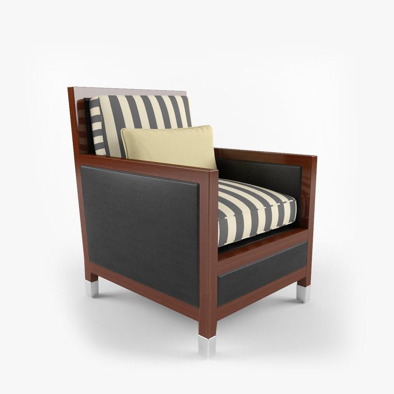 3dsmax metropolitan furniture chair