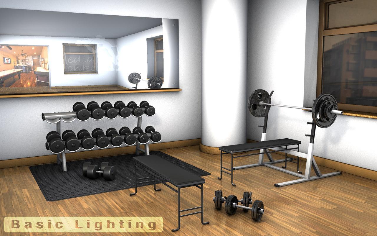 home gym lighting. Home Gym Lighting