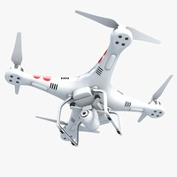phantom quadrocopter quads 3d model