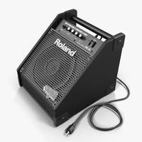 3d max roland pm-10 drum amplifier