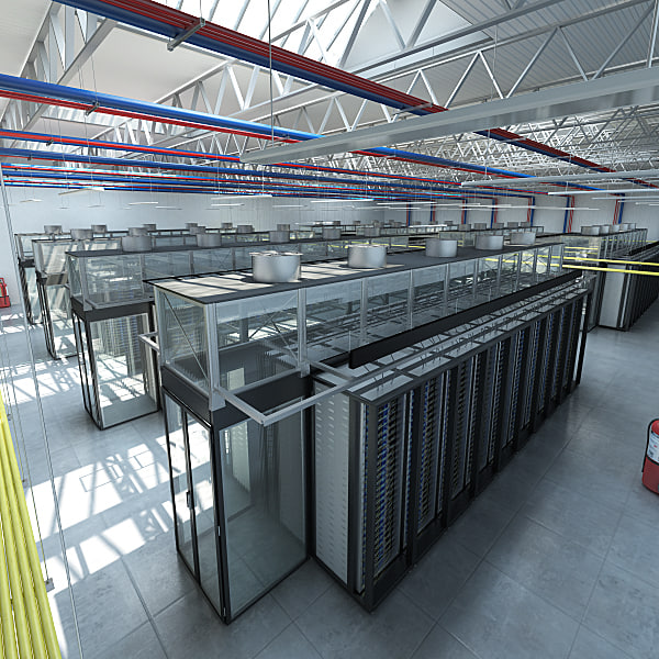 server warehouse 3d max