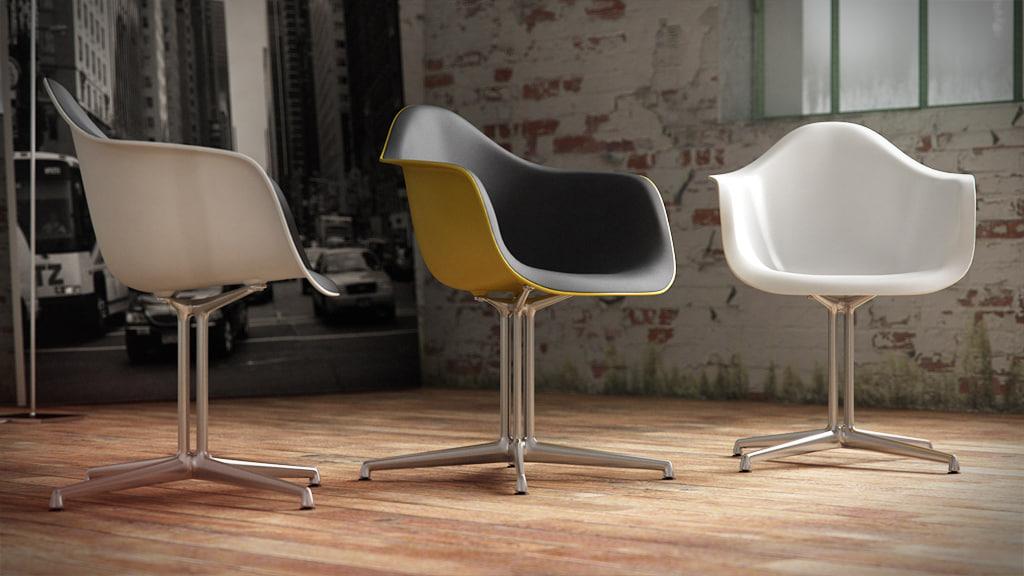 Eames Plastic Armchair : Cinema d vitra eames plastic armchair