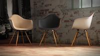 Vitra Eames plastic armchair DAW – N.09 in M4D Vol.5
