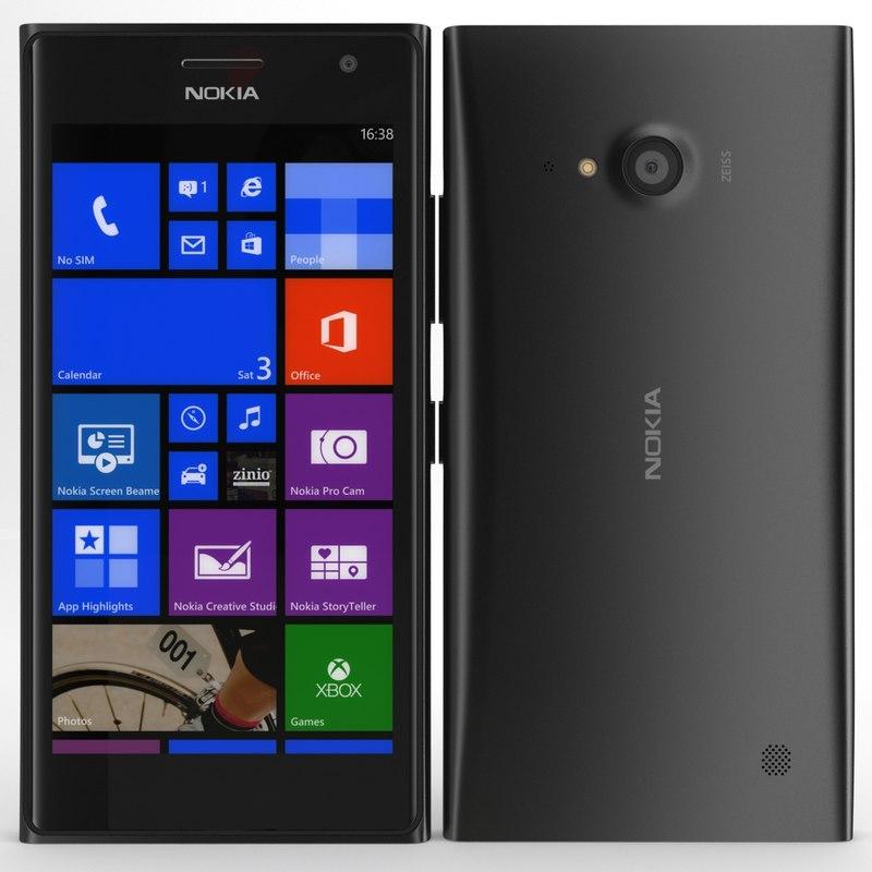 3d model nokia lumia 735