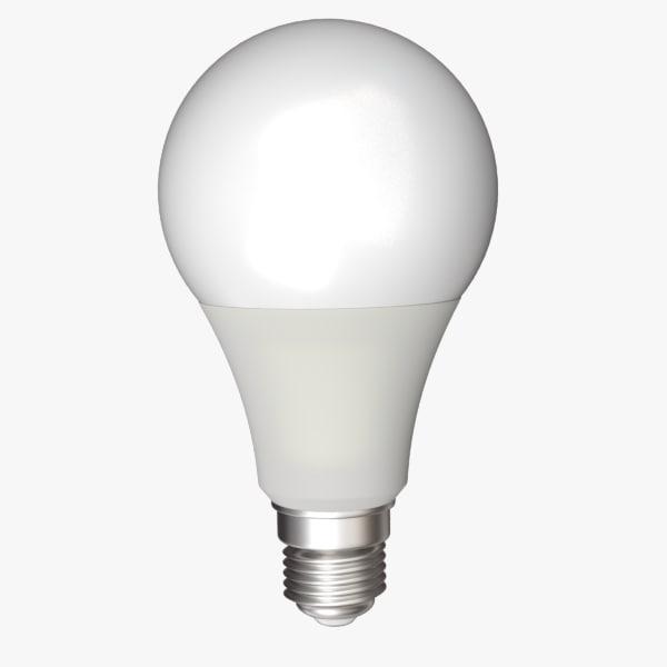 3ds max led lamp bulb