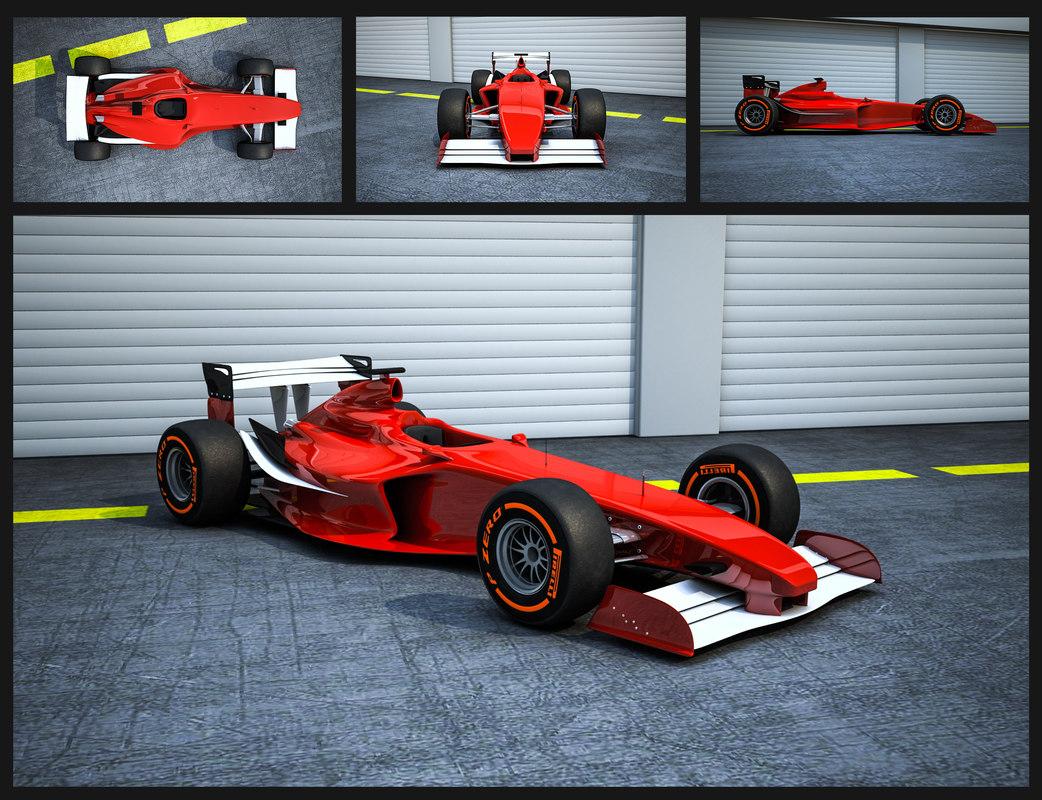 3d model formula 1