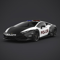 Lamborghini Huracan 2015 Police