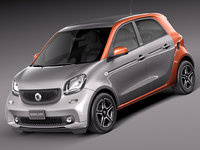 Smart ForFour 2015