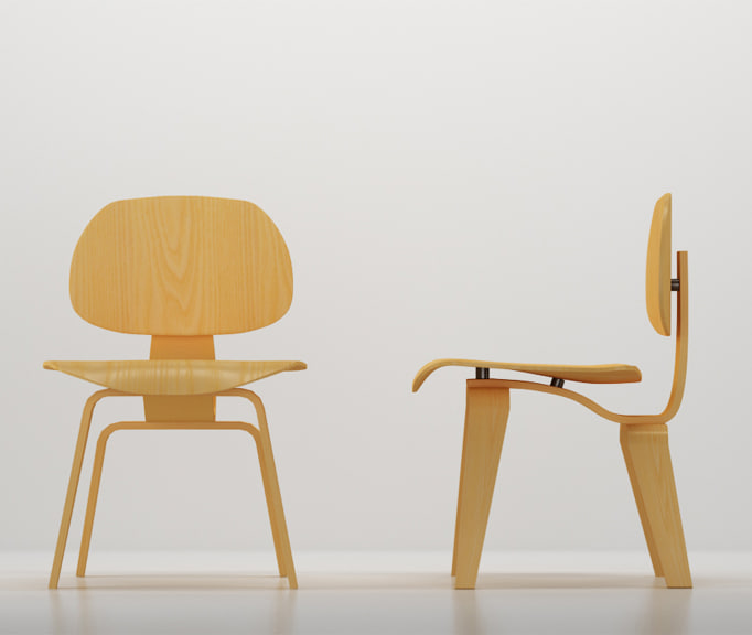 3d model vitra plywood group 1