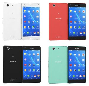 sony xperia z3 compact 3d 3ds
