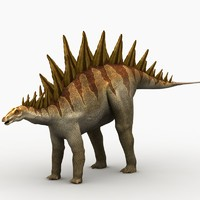 tuojiangosaurus dinosaur animation 3d max