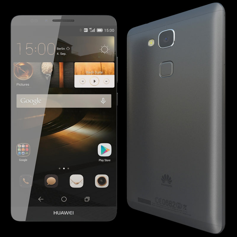 realistic huawei ascend mate 3d 3ds