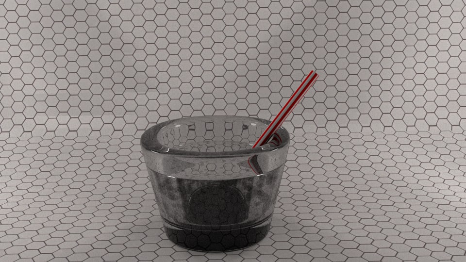 3ds max glass scene