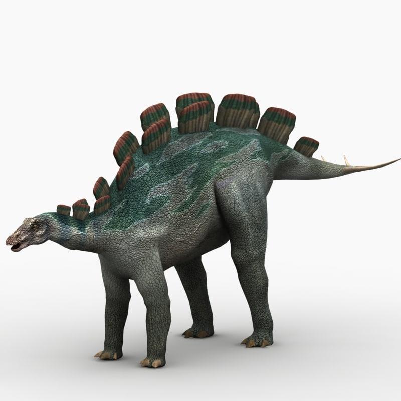 wuerhosaurus dinosaur animation max