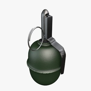 3d model hand grenades rgd-5