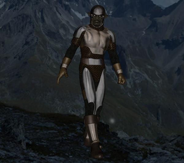 fbx panther warrior