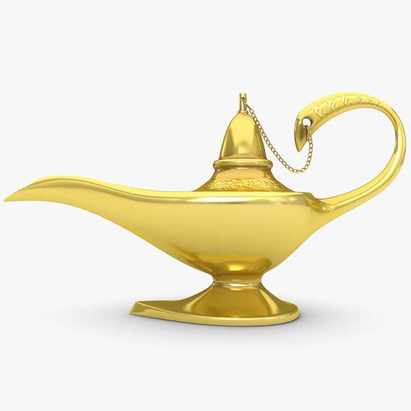 3d model magic lamp