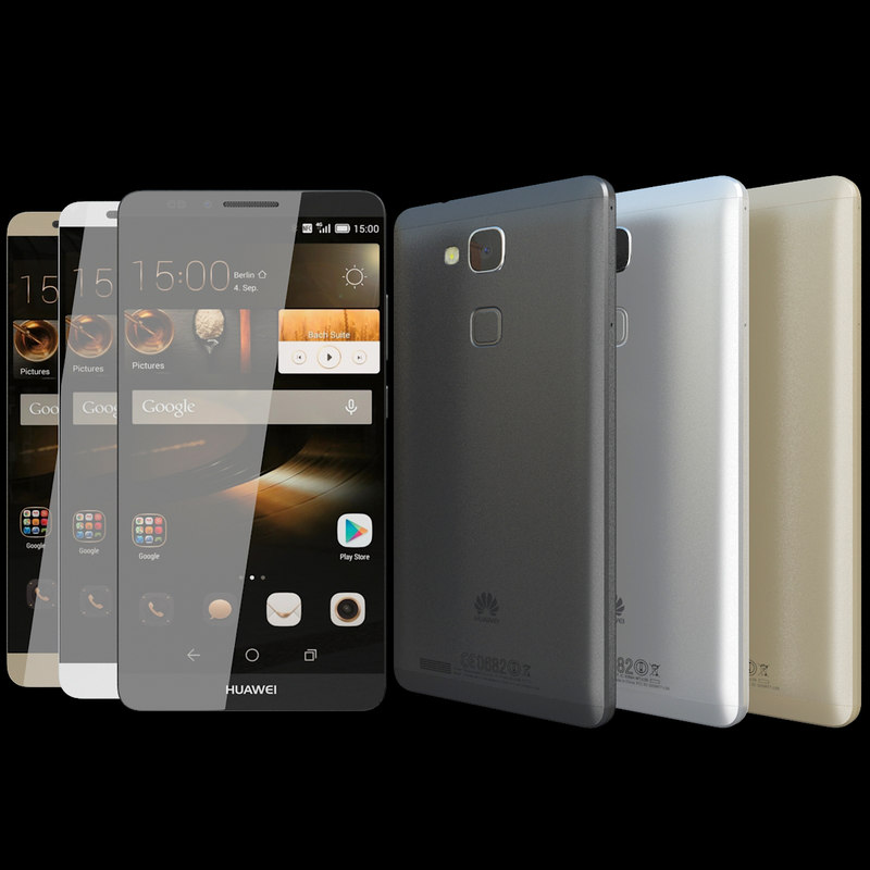 3d realistic huawei ascend mate