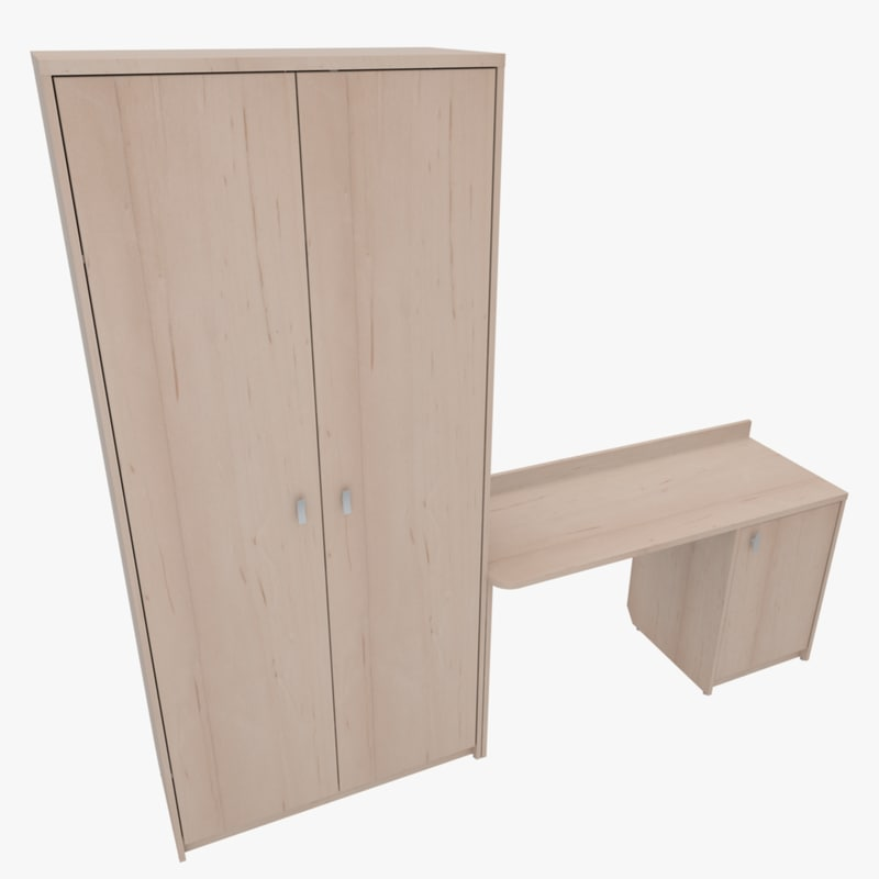 3d model of furniture home