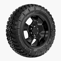 Off Road Wheel Nitto & MOTO METAL