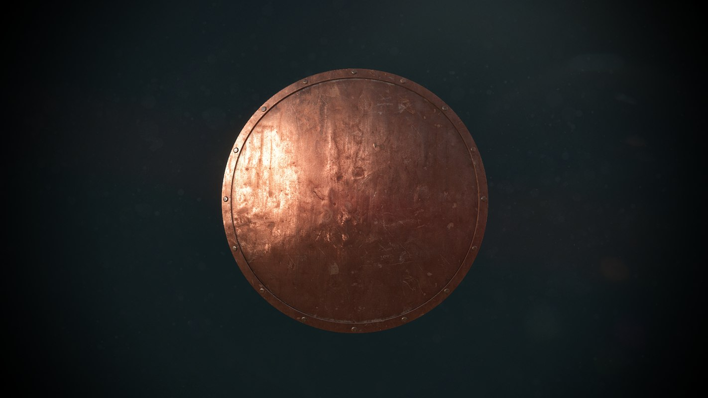 3d old shield