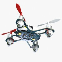 quadcopter hubsan nano q4 3d model